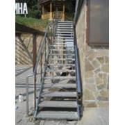Прямые лестницы фото