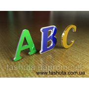 Комбинированные буквы с различных пластиков фото