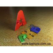 Псевдообъемные буквы сцветного акрила 3мм фото