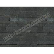 Фасадная панель Гранит (черный) фото