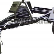Автомобильный прицеп 849001 грузоподъемностью 1900 кг. фото