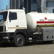 Новый газовоз АЦТ-10 на шасси МАЗ фото