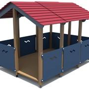 Домик для детского городка фото