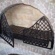 Решетка для камина. фото