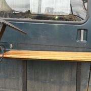 Ритуальный столик и скамейка фото