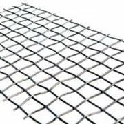 Сетка тканая оцинкованная 1.6x1.6x0.7 ГОСТ 3826-82, сталь 3сп5, 10, 20 фото