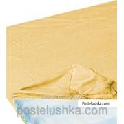 Простынь на резинке Zastelli джерси 100*200+25см Песочный фото