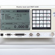 Universal radio test set RST-430 фото