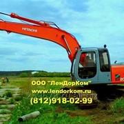Аренда гусеничного экскаватора Hitachi 200 от собственника в СПб фото