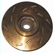 Рабочее высокоточное колесо в сборе маслостанции СНТ 40 штампосварного исполнения с защитным покрытием всех поверхностей нитридом титана фото