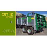 Машина для внесения твердых удобрений CET 12 фото