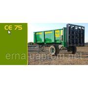 Машина для внесения твердых удобрений CE 75 фото