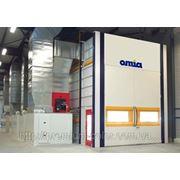 Окрасочно-сушильные камеры OMIA (Франция) фото