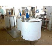Ванна длительной пастеризации ВДП-300, ОЗУ-300 фото
