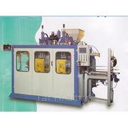 Экструзионно — выдувная машина для производства канист объемом до 10 литров с удалением облоя фото