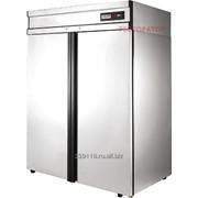 Холодильный шкаф POLAIR CB114-G (нерж.) фото