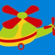 Вертолет.Мягкие пазлы (ТМ Ракета) фото