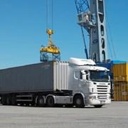 Услуги и аренда контейнеровоза фото