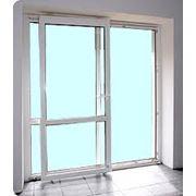 Окна двери алюминиевые фасады витражи входные группы алюминиевые конструкции строительные из алюминия изделия из алюминия двери балконные стройматериалы купить фото
