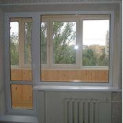 Балконные двери опт Киев фото