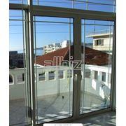 Балконные двери. Окна двери перегородки. фото