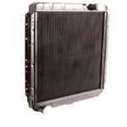 Радиатор охлаждения КАМАЗ 5320-1301010(-20) 3 ряд ШААЗ фото