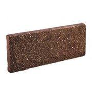 Цокольная плитка Литос, шоколад фото