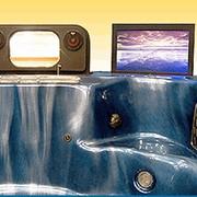 СПА-бассейны с кинотеатром фото