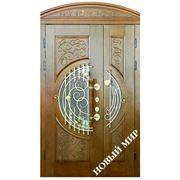 Двери 2-х створчатые фото