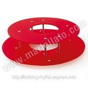 Подставка для фонтана Martellato — CHOCOBIGRING Ring for CHOCOBIG — RED plexiglass фото