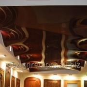 Волнообразные натяжные потолки фото