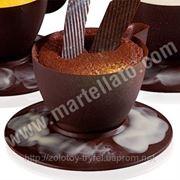 "Поликарбонатная форма для шоколада""Чашка» фото"