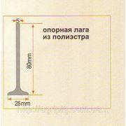 Опорные лаги (регеля) из полиэстра 80 мм фото