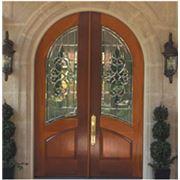 Входная дверь из дерева производства «Стиль-Экология». фото