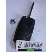 Заготовка для автомобильных ключей выкидная Volkswagen, art.2 фото