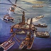 Логистическое обеспечение разработки шельфовых месторождений (челночные перевозки нефти в ледовых условиях, услуги по эксплуатации плавучих нефтехранилищ), услуги судов- снабженцев, ЛАРН фото