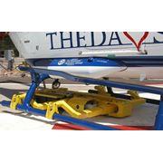 Тележка для транспортировки вертолетов фото