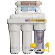 Фильтр для воды Leader Standart RO 6 с биокер. и помпой фото