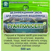 Гуанполисепт. Для очистки водоемов без рыб.( на 50м3 0,5кг) фото