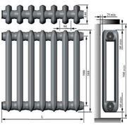 Радиатор чугунный 140МС Нижний Тагил фото