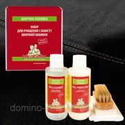 Набор для очистки и защиты кожаной обивки фото