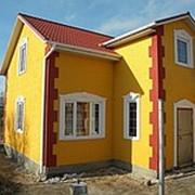 Деревянный каркасный дом в Крыму. Продажа, монтаж фото
