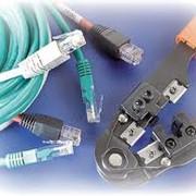 Прокладка и настройка сети и сетевого оборудования фото