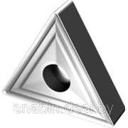 Пластина твердосплавная сменная 3-х гранная 01114-160408 Т15К6 фото
