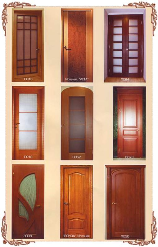 Дверь из ясеня цена, где купить в Кривом Роге