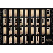 Двери деревяные филенчатые с цельной древесины (сосна) шлифованые фото