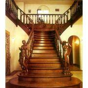 Классические-деревянные лестницы