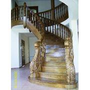 спиральная лестница фото