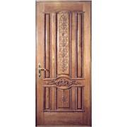 Входные двери с художественной резьбой 14 фото