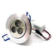 Светильник светодиодный точечный 3Вт фото